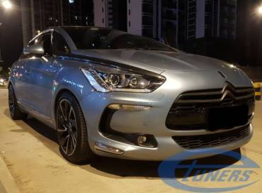 Citroen DS5 1.6T THP163 – Stage4 JCW hybrid turbo