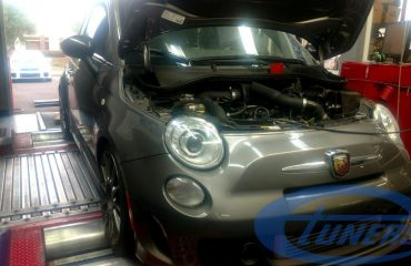 Fiat Abarth 500 - Etuners Stage2 ECU remap on Dynodynamics