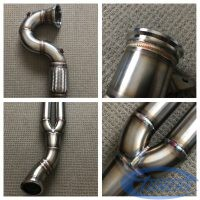 IROZ Motorsports downpipe for the Audi RS3 8V MY2017 DAZA (facelift)