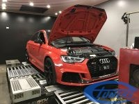 Audi RS3 8V MY2017 DAZA / Etuners Stage2 on dyno