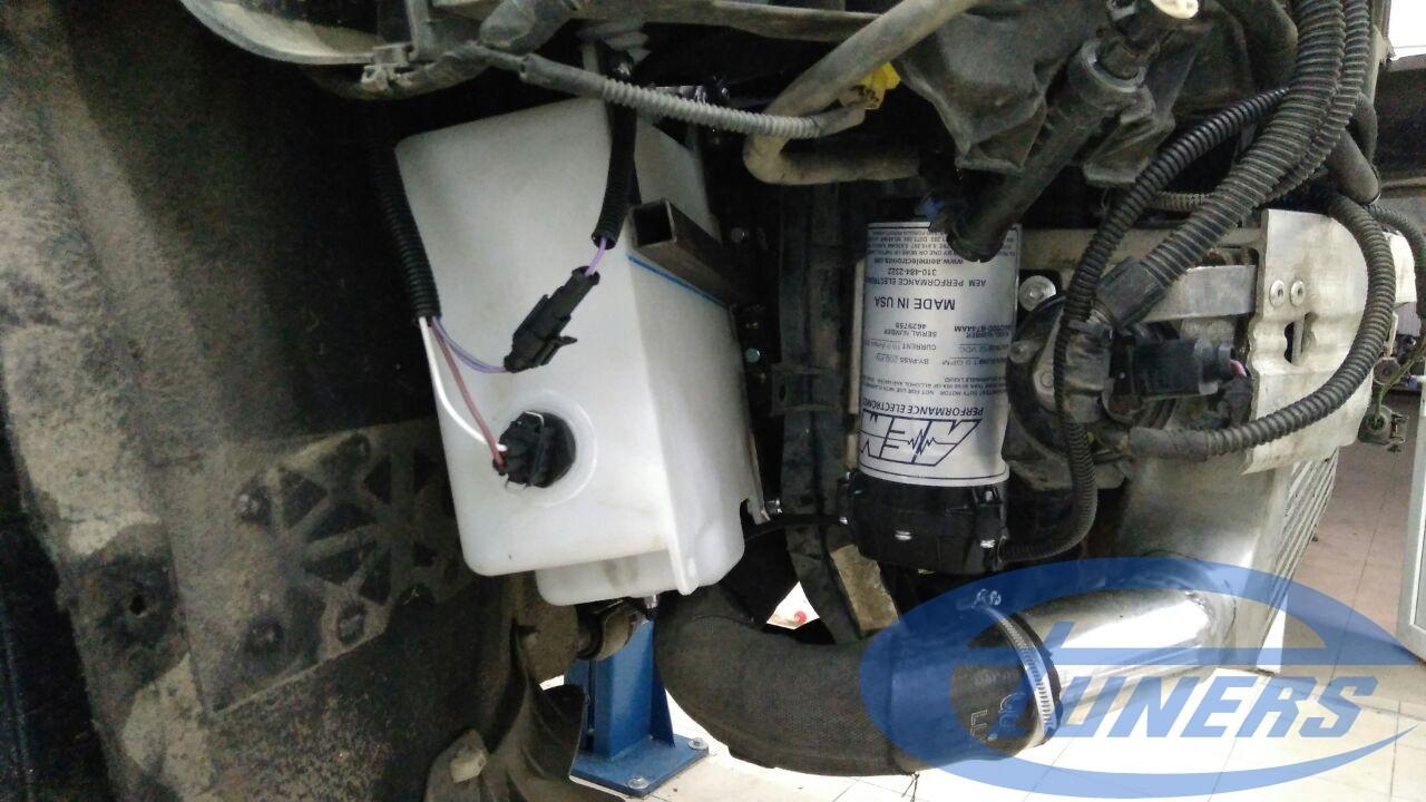 AEM Water-Methanol Injection kit installed on Audi Q5 2.0 TFSI