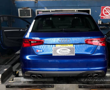 Audi S3 8V 2.0 TFSI – Stage3 CTS Boss500 95RON+WMI