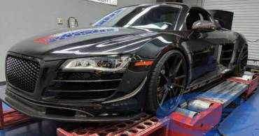 Audi R8 5.2FSI – Stage3 Twin turbo GT35 kit 91oct (95RON)