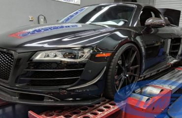 Audi R8 5.2 FSI - Twin Turbo kit GT35 - Stage3 Etuners