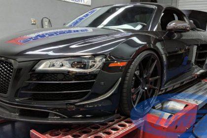 Audi R8 5.2 FSI - Twin Turbo kit GT35 - Stage3 Etuners