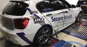 BMW 135i series M F20 on dyno @ Etuners
