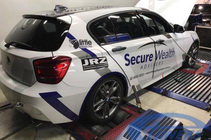 BMW 135i series M F20 on dyno @ Etuners