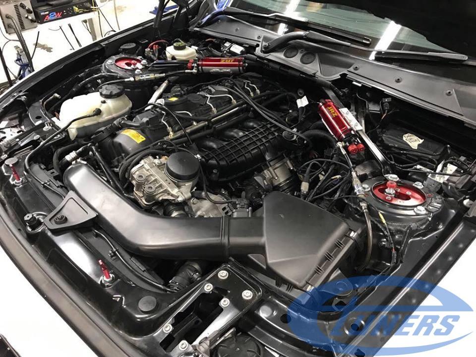 BMW 135i M Series F20 - engine bay - Etuners remap