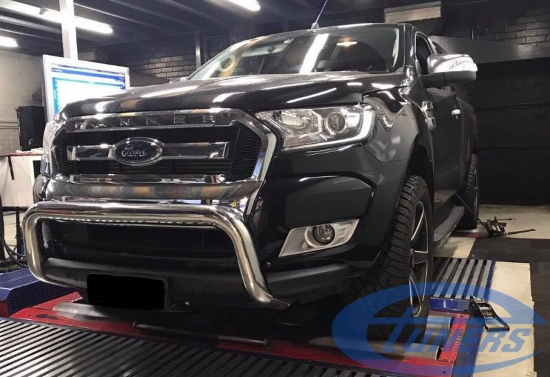 Ford Ranger 3.2 TDCI (MY2017) - Etuners Stage1 being tested on DynoDynamics rolling road