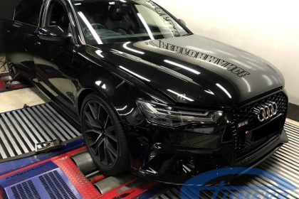 Audi RS6 C7 4.0 TFSI Etuners Stage2 98ron on dyno - DynoDynamics