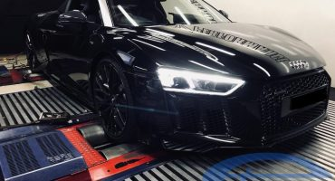 Audi R8 5.2FSI MY2017 - Etuners Stage2 + Akrapovic exhaust