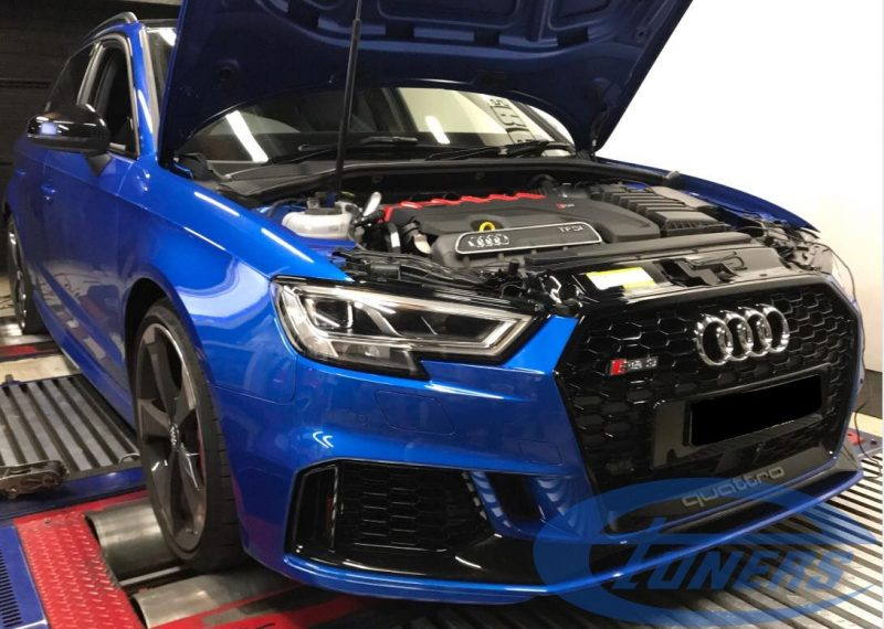 Audi RS3 8V 2.5TFSI MY2018 - Etuners Stage2 ECU + TCU remap