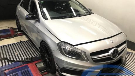 Mercedes A45 AMG W176 - Etuners Stage2 ECU remap