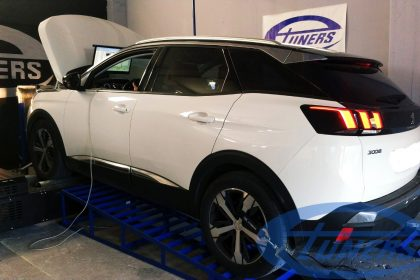 Peugeot 3008 1.6 BlueHDI120 EAT6 MY2017 - Etuners Stage1