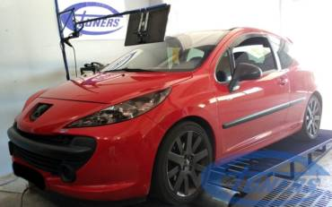 Peugeot 207 1.6 THP150 – Stage3 207RC/GTI turbo 98RON