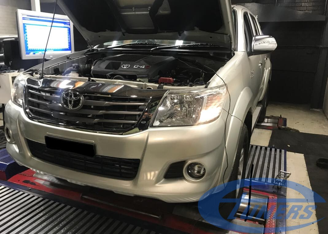 Toyota Hilux 3.0 D4D - Etuners Stage1
