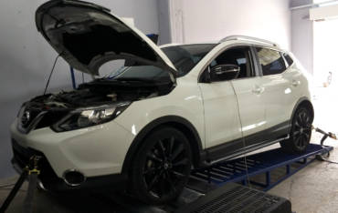 Nissan Qashqai J11 1.5dCi 110hp – Stage1