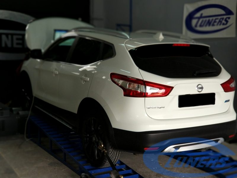 Nissan Qashqai J11 1.5dCI - Etuners Stage1