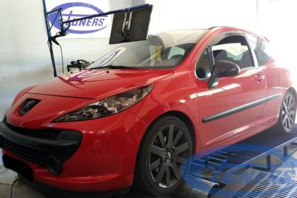 Peugeot 207 1.6 THP150 - 207RC turbo Etuners Stage3