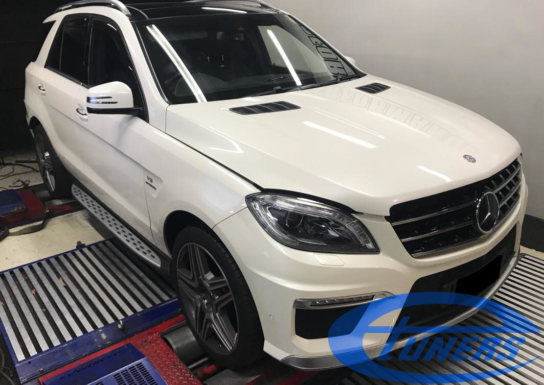 Mercedes ML63 AMG 5.5TT - Etuners Stage2 98RON