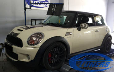 Mini Cooper S R56 1.6T – Stage4 hybrid Turbo 98ron + map switching