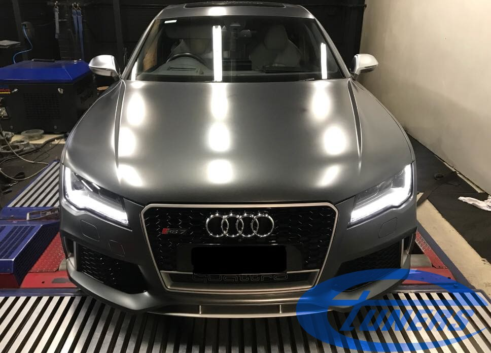 Audi RS7 C7 4 0TFSI – Stage2 + Water/methanol + Gearbox remap – eTuners