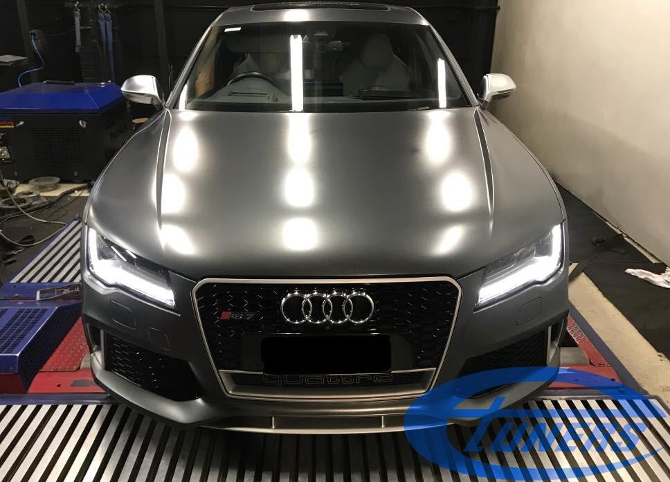 Audi RS7 C7 4.0TFSI - Etuners Stage2 + WMI + TCU ZF AL551