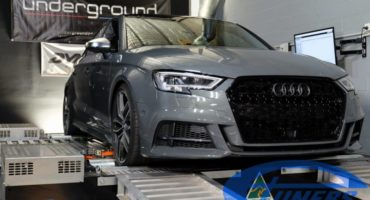 Audi S3 8V 2.0TFSI facelift MY2017 - Etuners stage2