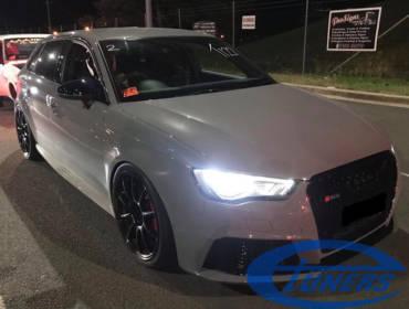 Audi RS3 8V.1 – Stage3 TTE500 E85 – Australian record 10.94@127.56mph