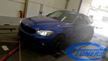 BMW 3 GT (F34) 320d xDrive MSport 2.0d – Etuners Stage1 ECU remap