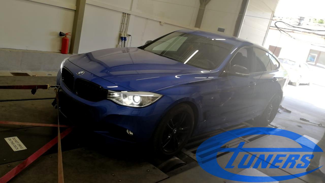 BMW 3 Gran Turismo (F34) 320d xDrive MSport GT 2.0d - Etuners Stage1 ECU remap