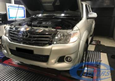 Toyota Hilux 3.0 D4D MY2014 – Stage1