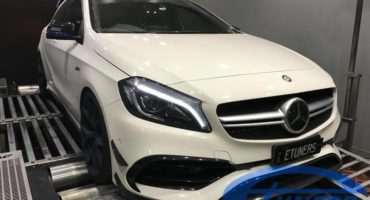 Mercedes A45 AMG - Etuners Stage2 98RON ECU remap
