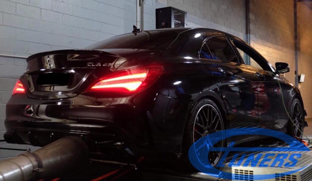 Mercedes CLA45 AMG 2.0T - Etuners Stage3 hybrid 98RON WMI
