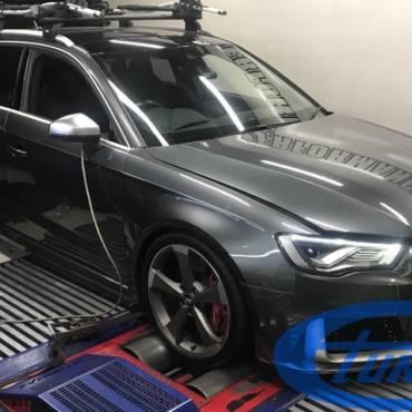 Audi RS3 8V.1 2.5TFSI – Stage3 Tomcat hybrid turbo + Aquamist WMI