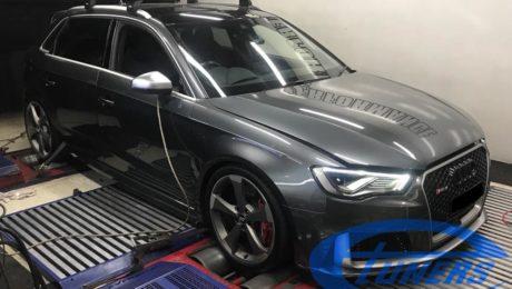 Audi RS3 8V.1 2.5TFSI - Etuners Stage3 Tomcat hybrid turbo + Aquamist WMI