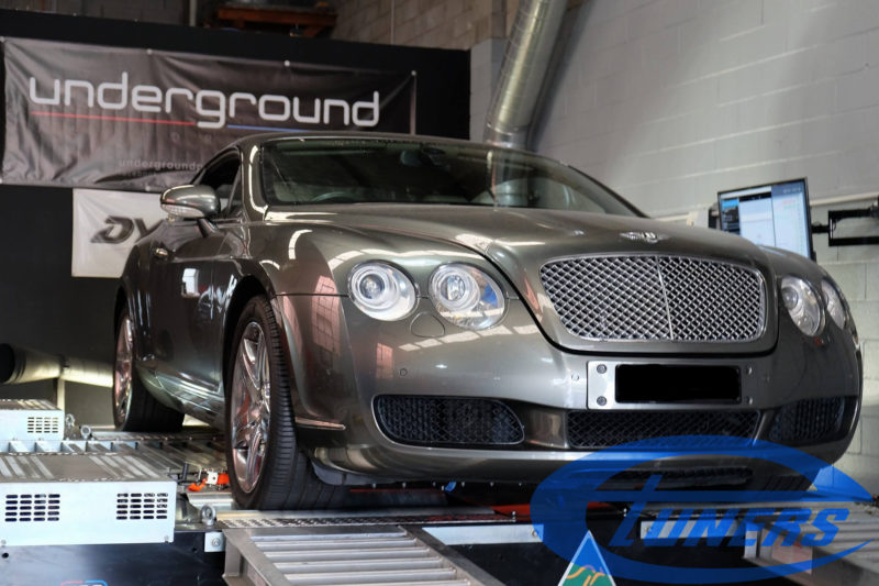 Bentley Continental GT 6.0TT W12 - Etuners Stage1