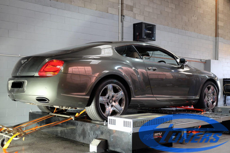 Bentley Continental GT 6.0TT W12 - Etuners Stage1