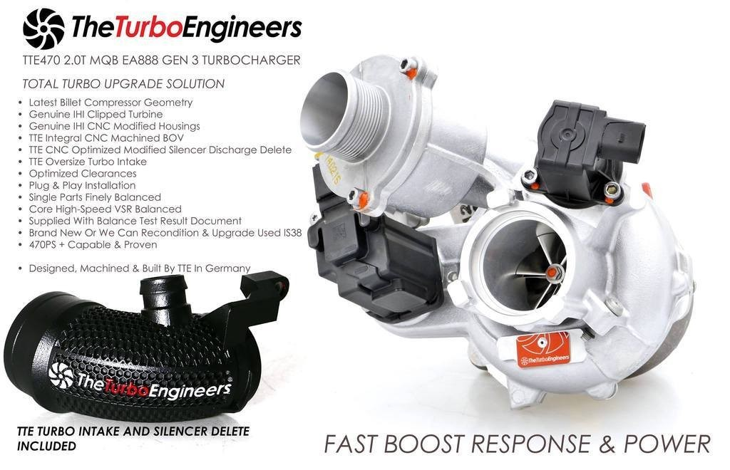 TTE470 hybrid turbocharger Theturboengineers