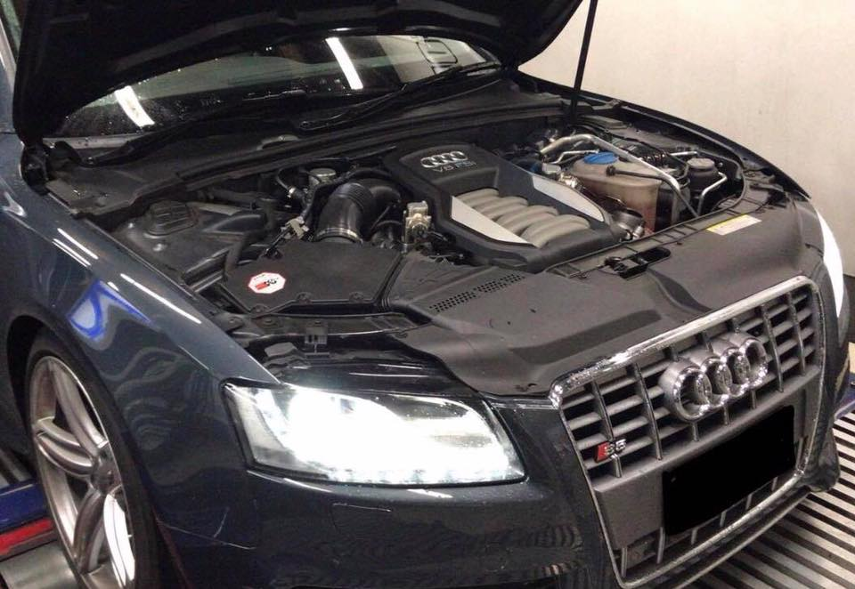 Audi S5 4.2FSI V8 Quattro - Etuners Stage1