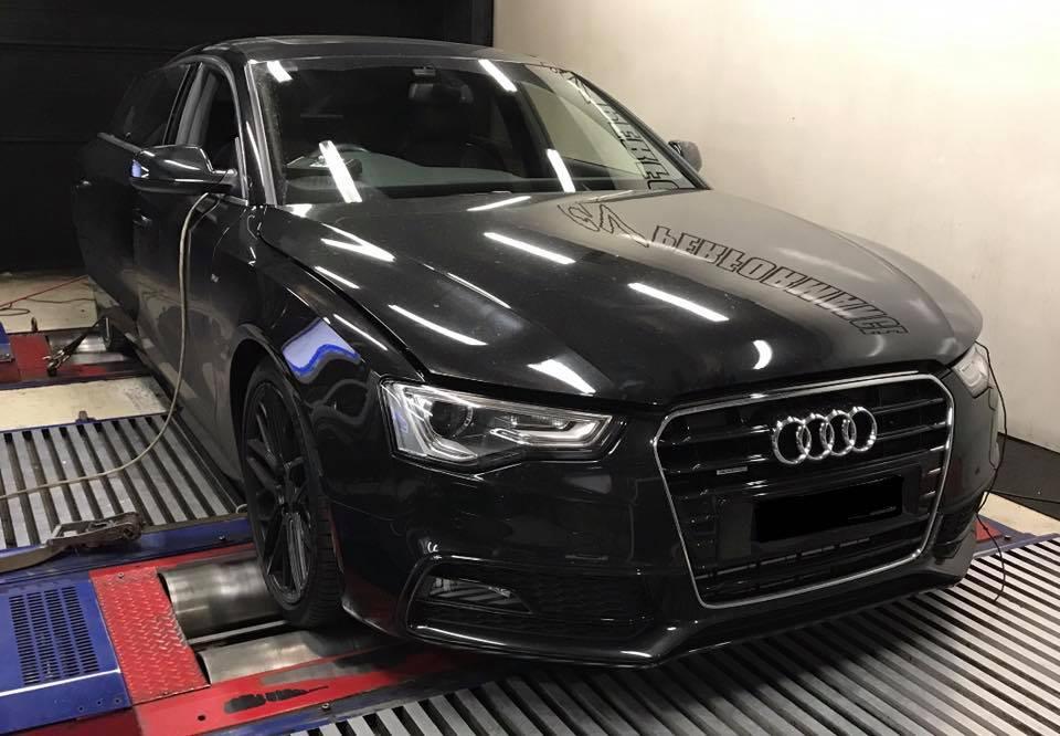 Audi A5 3.0TDI stage1