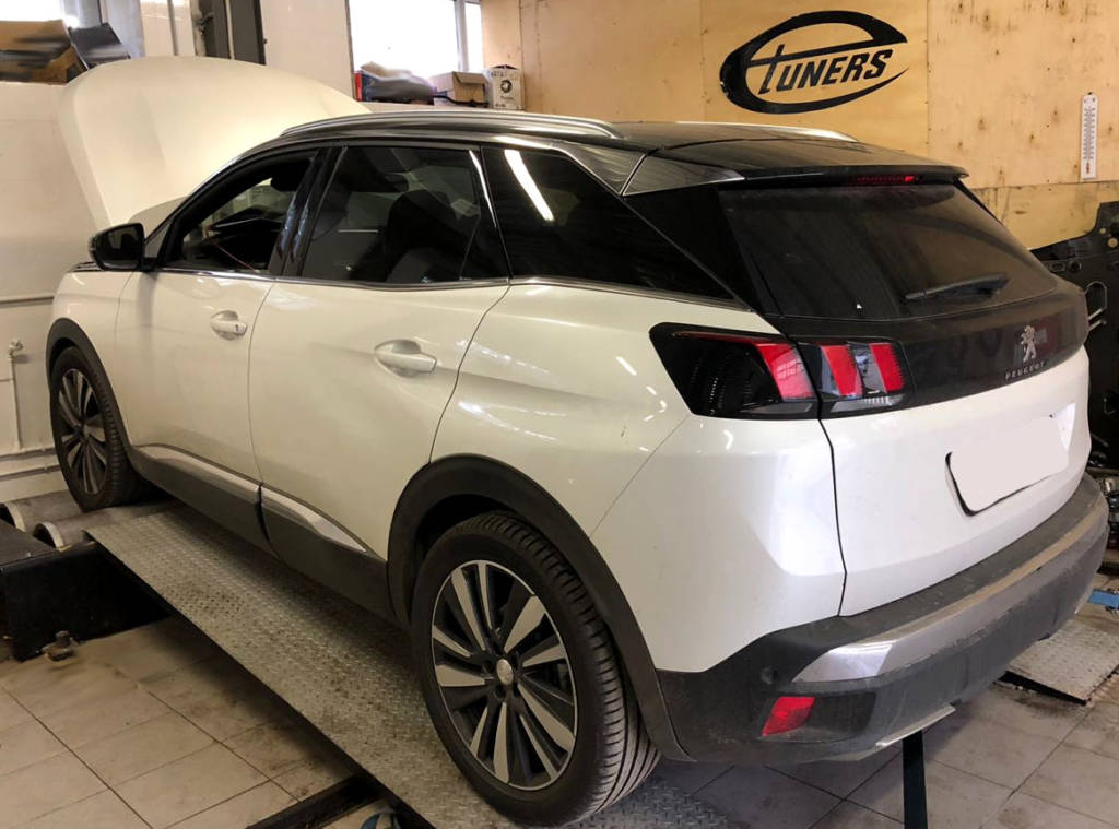 Peugeot 3008 Gen2 2.0HDI MY2018 - Stage1