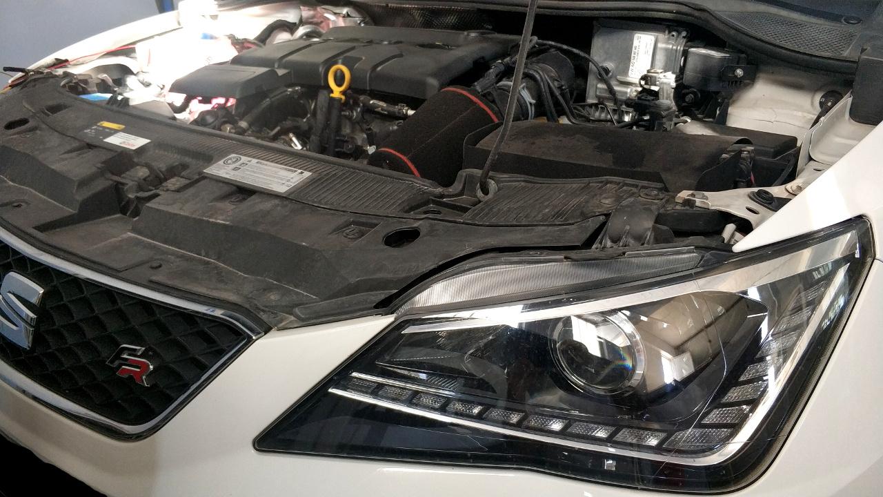 Seat Ibiza 6P 1.4TDI 105hp - Etuners Stage1 tuning remap