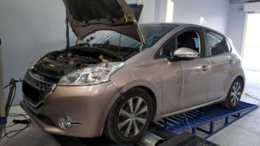 Peugeot 208 1.4HDi Automatic – Stage1