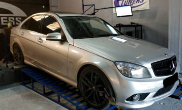 Mercedes C200 W204 1.8Kompressor – Stage1 98RON