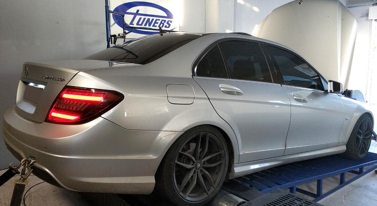 Mercedes C200 W204 1 8kompressor Stage1 98ron Etuners