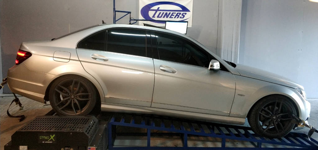 Mercedes C200 W204 1.8K with SIM271KE - Etuners Stage1 tune remap 98RON