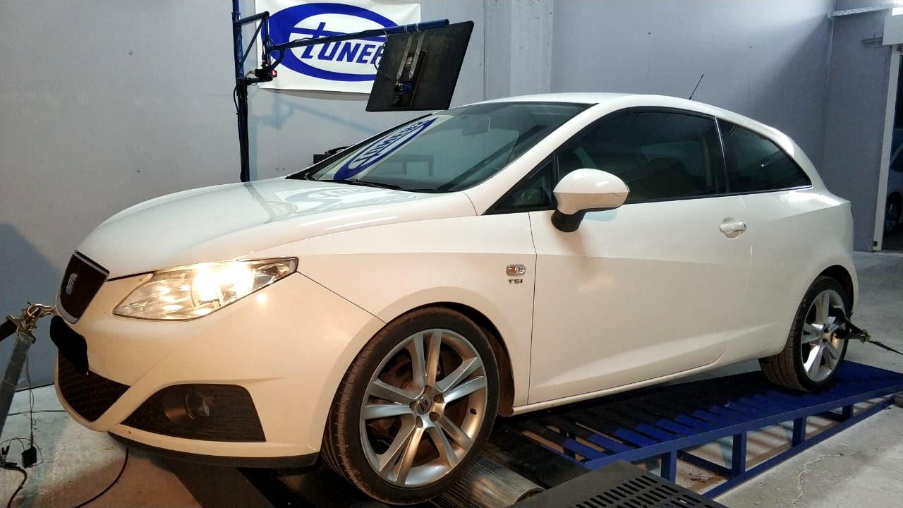 Seat Ibiza 1.2TSI - Etuners Stage1 tune remap 95RON