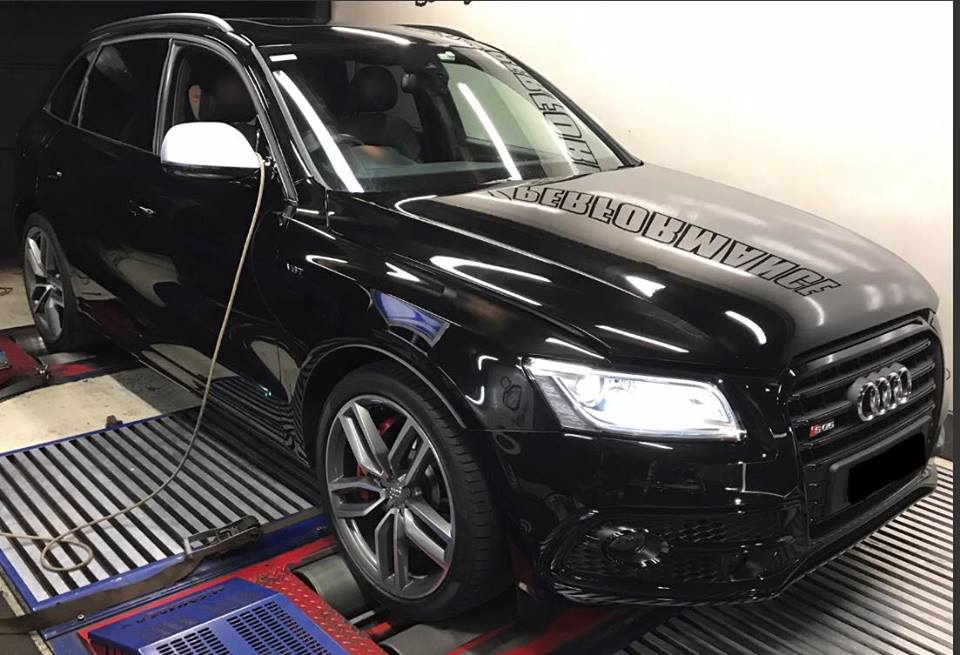 Audi SQ5 3.0TDI - Etuners Stage1 ECU remap tuning