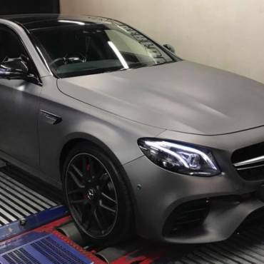 Mercedes E63S AMG 4.0TT – Stage1 98RON